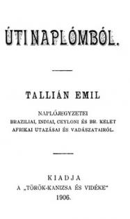 tallián emil úti naplómból