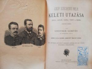 Kreitner Gróf Széchenyi Béla keleti utazása