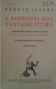 fekete istván koppányi aga