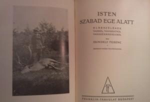 zsindely ferenc vadászkönyve
