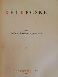 Széchenyi Zsigmond - Két kecske