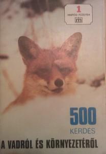 500 kérdés a vadról