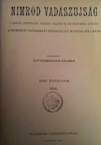 nimród 1936