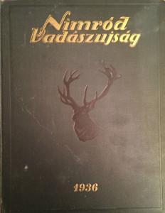 nimród vadászújság 1936