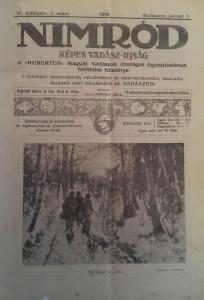nimród vadászújság 1918