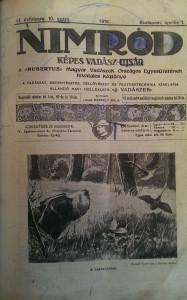 nimród vadászújság 1918 teljes évfolyam
