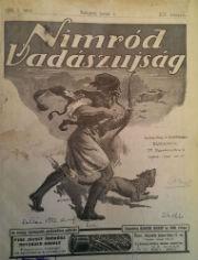 nimród vadászlap 1926