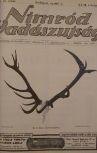 nimród újság 1930