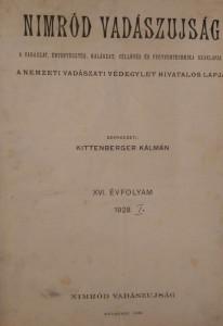 nimród 1928