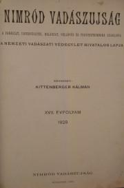 nimród 1929