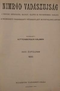 nimród 1930