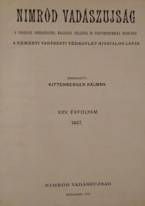 nimród 1937