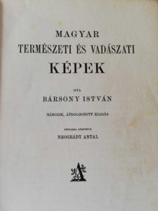 Magyar Természeti és Vadászati Képek Barsony