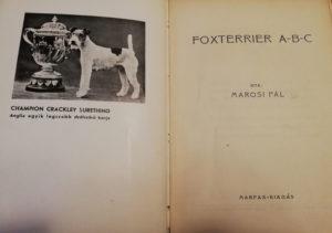 foxterrierek könyv