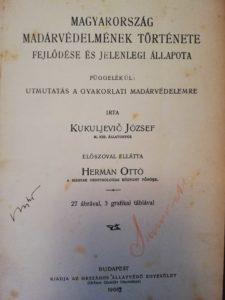 magyarország madárvédelome kukuljevic