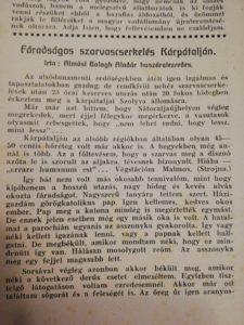 Magyar Vadászujság 1940bol