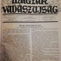 Magyar Vadászujság 1941