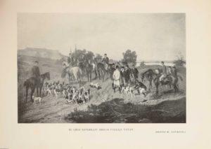 Magyar kopófalkák és falkászok