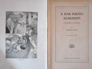 Bársony István - A rab király szabadon 1900