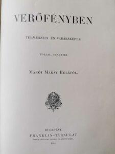 Makay Béla - Verőfényben 1905