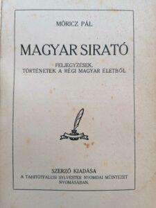 Móricz Pál - Magyar sirató