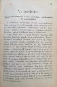 Vadászati útmutató X. Évfolyam 1933